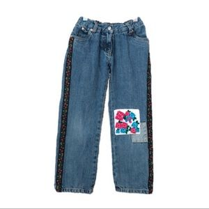 Hanna Andersson Flower Jeans